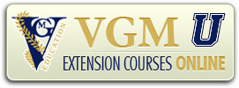 VGMU Extension Courses Online
