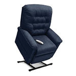 Heritage Collection, 3-Position, Full Recline, Chaise Lounger Lift Chair, LC-358M - This LC-358M Lift Chair from the Heritage Co